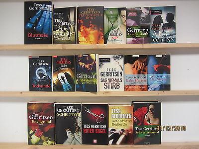 Tess Gerritsen 17 Bücher Romane Krimi Thriller Psychothriller Top Titel