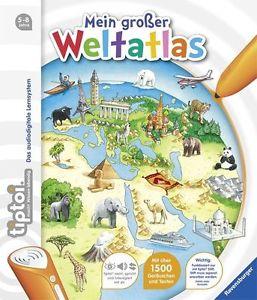 Tiptoi® Mein großer Weltatlas von Inka Friese (2016, Ringbuch) unbenutzt