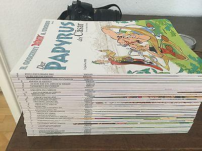 Asterix komplett: 1-36 aktuelle Neuauflage, ungelesen + Sonderband +10 Beilagen
