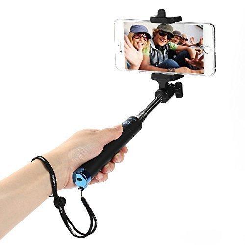 Poweradd Bluetooth Selfie Stick für Android und iOS Smartphone