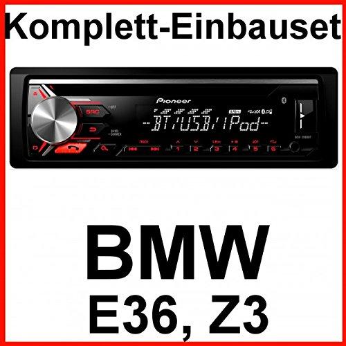 Komplett-Set BMW 3er E36 Z3 Pioneer DEH-3900BT USB CD Bluetooth Autoradio MP3