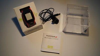 TomTom Runner Cardio - GPS Laufuhr mit Herfrequenzmessung am Handgelenk