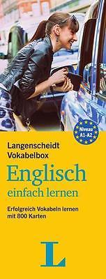 Langenscheidt Vokabelbox Englisch einfach lernen - Box mit 800 Karteikarten