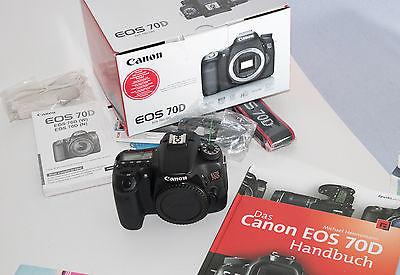 Canon EOS 70D -TOP!!! OVP!!!