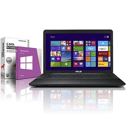 ASUS F751M (17,3 Zoll) Notebook (Intel N2940 Quad Core 4x2.25 GHz, 8GB RAM, 750GB S-ATA HDD, Intel HD Graphic, HDMI, Webcam, USB 3.0, WLAN, DVD-Brenner, Windows 8.1 64 Bit) #4841