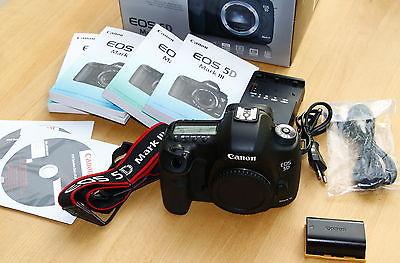 Canon EOS 5D Mark III 22,3MP  Spigelreflexkamera sehr guter Zustand