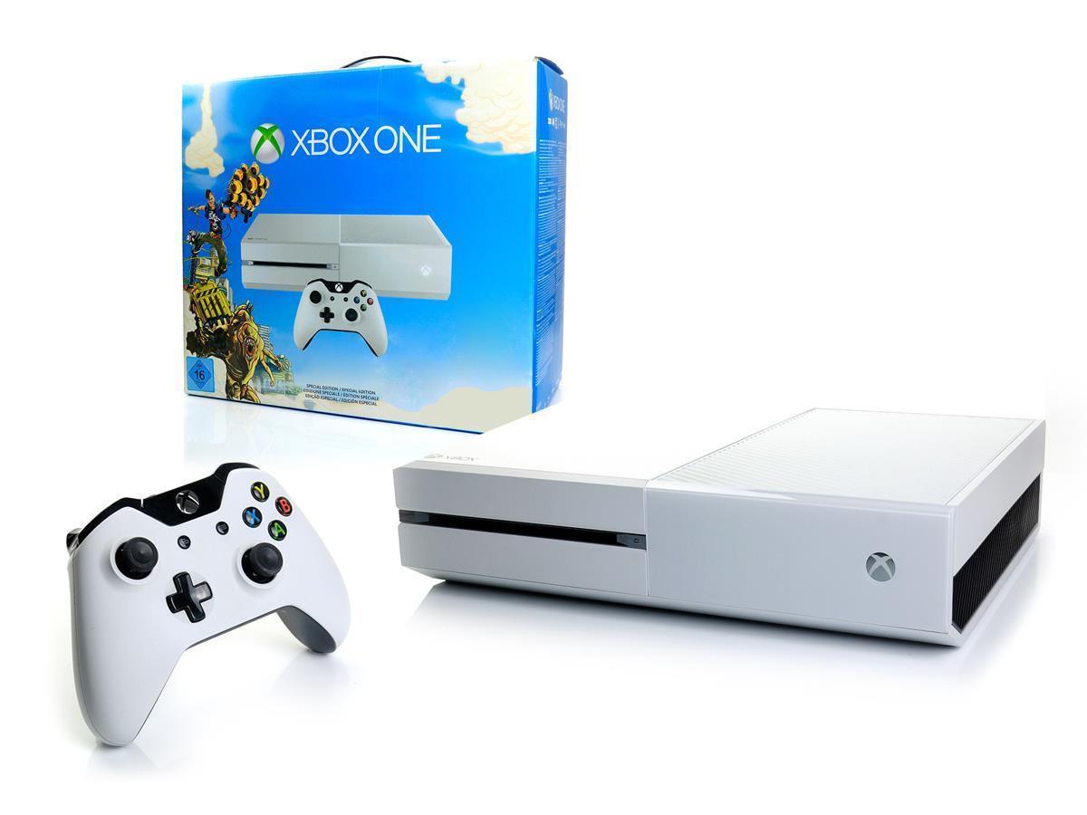 Microsoft XBOX ONE Konsole 500GB WEISS + Controller Kinect-kompatibel