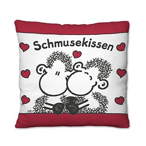Sheepworld 43292 Plüschkissen Schmusekissen