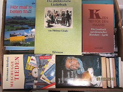 75 Bücher Platt Plattdeutsch Mundart Dialekt Plattdütsch niederdeutsche Sprache