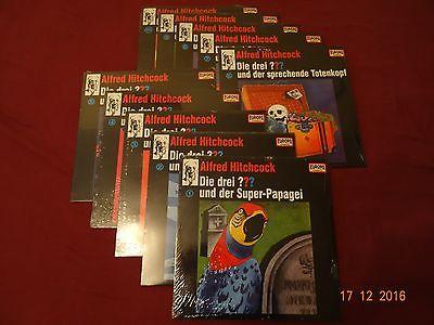 Die drei Fragezeichen, ???, DDF, Picture Vinyl, mint, OVP, Folge 1-10 komplett !