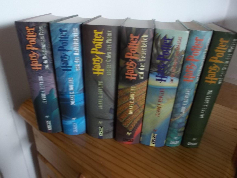 Harry Potter Bücher 1-7 Gebundene Ausgabe
