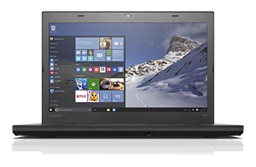 Lenovo 20FN003LGE Full HD Notebook (Intel Core i5, 256GB Festplatte, 8GB RAM, Intel HD Graphics 520, Win 7 Professional, 35,6 cm (14 Zoll)) schwarz