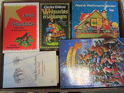 62 Bücher Weihnachten Christfest Advent Weihnachtslieder weihnachtliche Bücher