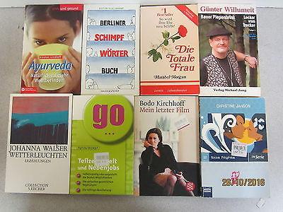 136 Bücher Taschenbücher verschiedene Verlage