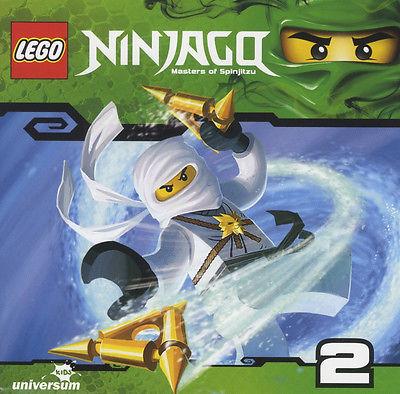 CD * LEGO NINJAGO : MEISTER DES SPINJITZU (CD 2) # NEU OVP §