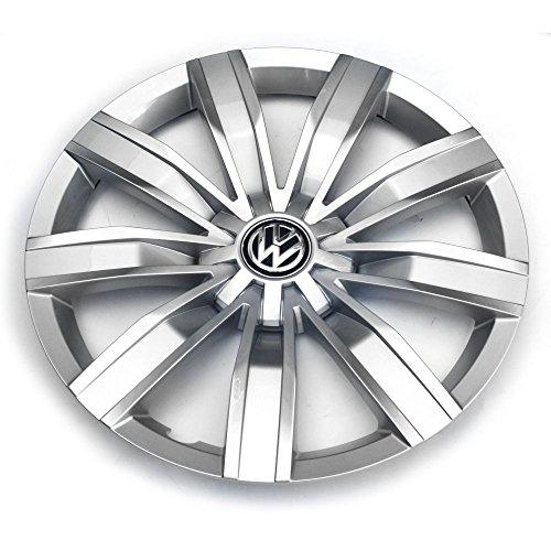VW Tiguan MQB (ab 2016) Radzierkappe 17 Zoll Original Radkappe Blende silber chrom 5NA601147 YTI