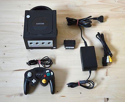 NGC - Nintendo GameCube Konsole Schwarz mit Controller