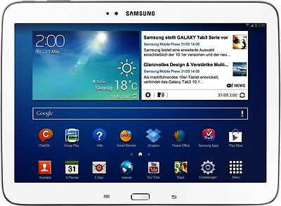 Samsung GALAXY Tab 3 weiß P5210 16GB WIFI Android Tablet PC 10