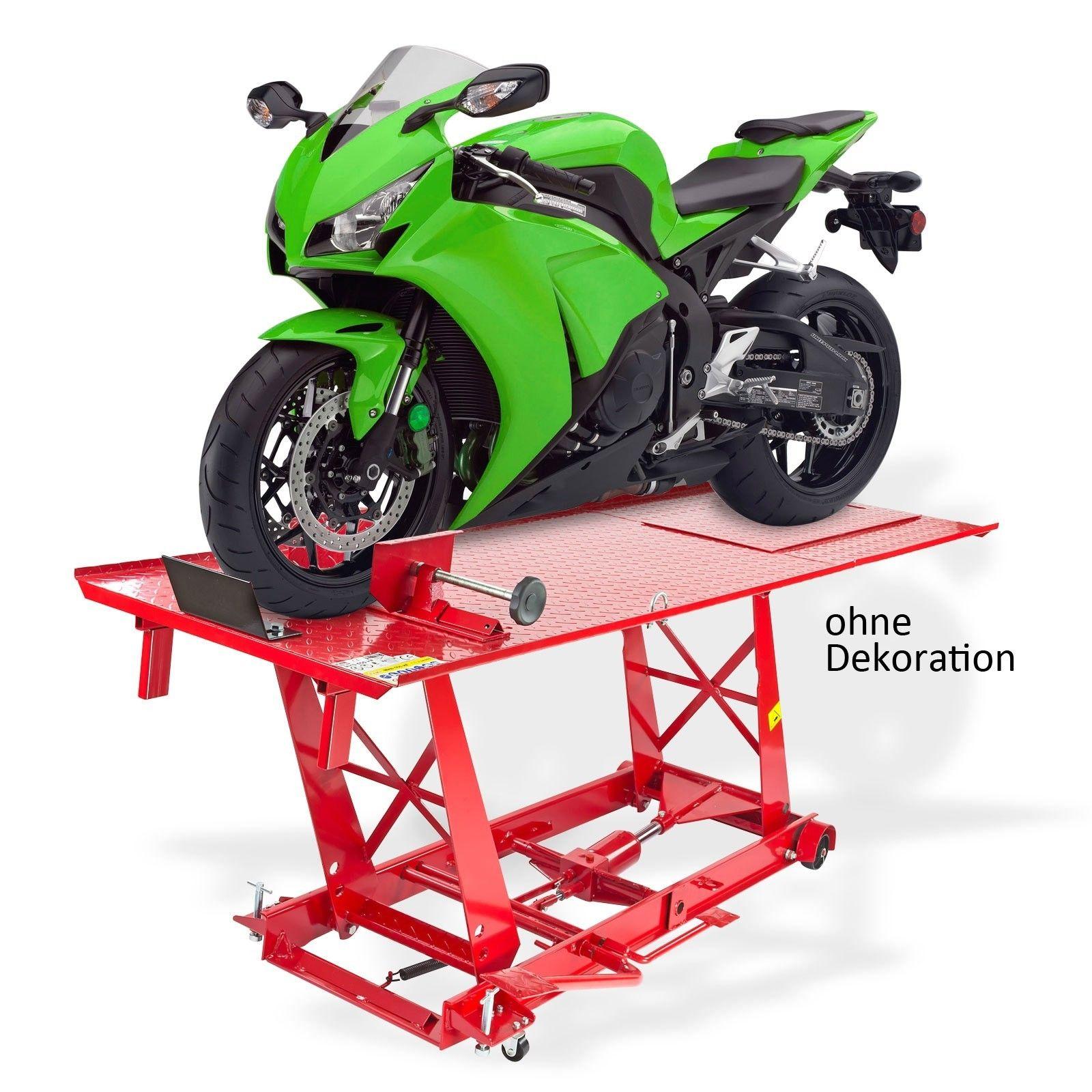 Motorradhebebühne Hebebühne DHB1000 454 kg Übergröße Chopper hydraulisch