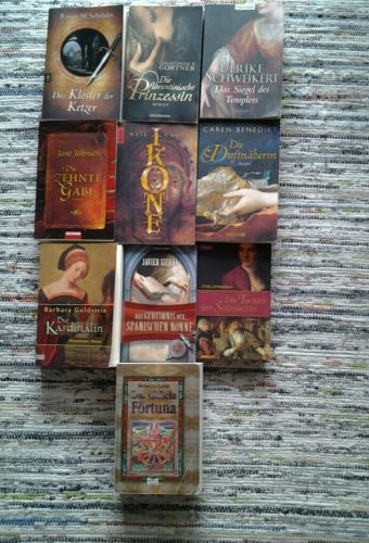 Buchpaket - 10 historische Romane