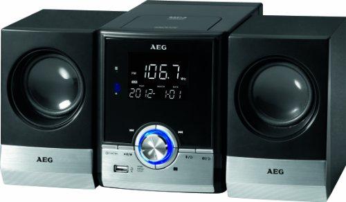 AEG MC 4461 Bluetooth Musik Center schwarz