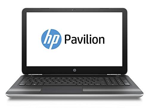 HP Pavilion (15-aw004ng) 39,6 cm (15,6 Zoll FHD-Display) Notebook (AMD Quad-Core A10-9600P, 8GB RAM, 256 SSD, AMD Radeon R7 M440-Grafikkarte, Windows 10) silber
