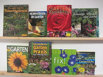 34  Bücher Garten gärtnern Gartengestaltung Gartenpflege Gärten Gartenkunst