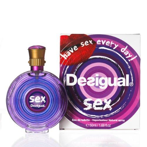 Desigual Sex Eau de Toilette 50 ml, 1er Pack (1 x 50 ml)
