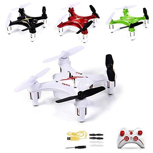 4-Kanal 2.4GHz RC ferngesteuerter mini Nano Quadcopter Pro, Drohne mit 6-axis Gyro, 3D Loopings, Komplett-Set inkl. Ersatzteil-Set