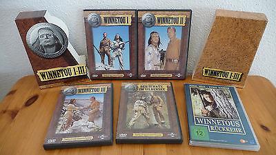 Winnetou - Paket (DVDs und Bücher)