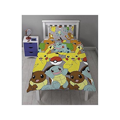 Pokemon Go Catch Single Rotary Duvet Cover Set Inc. Pillowcase by Character World