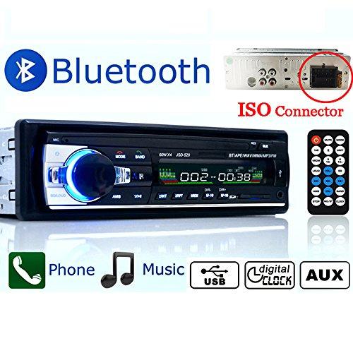 Polarlander Auto Radio Player unterstützt Bluetooth Freisprecheinrichtung Auto Audio Stereo