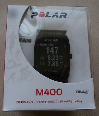 POLAR M400 GPS Sportuhr in OVP, neuwertig mit HR Brustgurt NEU