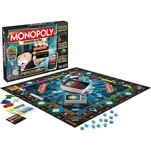 Hasbro Spiele B6677E39 - Monopoly Banking Ultra - NEU - Brettspiel,Familienspiel