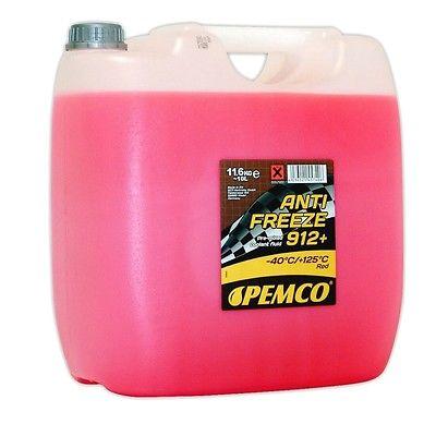 10 Liter Kühler Frostschutz gemäß G12+ G12 Plus rosa rot VW Ford Mercedes Opel