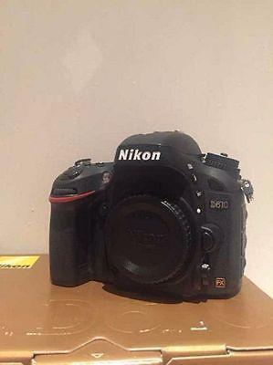 Nikon D D610 24.3 MP SLR-Digitalkamera - Schwarz (Nur Gehäuse)