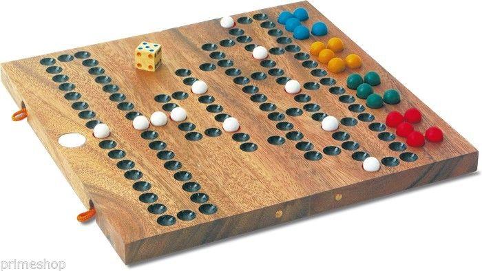 Barrikade Malefiz Brettspiel Holz 2 - 4 Spieler Neu