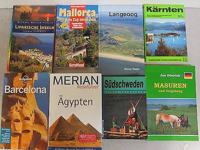 69 Bücher Reiseführer nationale und internationale Reiseführer