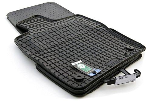 Gummimatten Seat Ateca (4-teilig) Original Qualität Auto Fußmatten schwarz