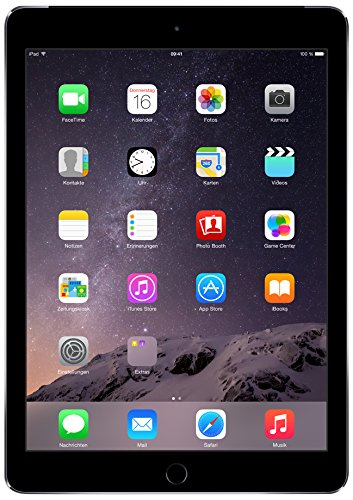 Apple iPad Air 2 24,6 cm (9,7 Zoll) Tablet-PC (WiFi/LTE, 16GB Speicher) spacegrau