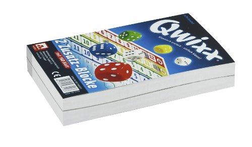Nürnberger-Spielkarten 4016 - Qwixx-Zusatzblöcke 2er-Pack, Würfelspiel