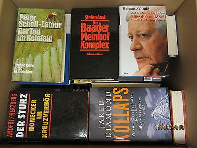 40 Bücher Sachbücher Wissenschaft Wirtschaft Politik