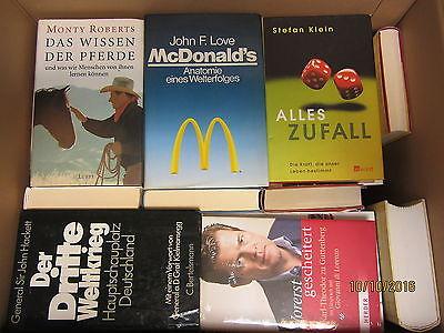 40 Bücher Sachbücher Wissenschaft Wirtschaft Politik Paket 1