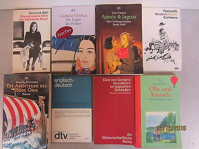 84 Bücher Taschenbücher  dtv Verlag