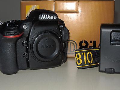 Nikon D810 - 3500 Auslösungen - staubfrei - neueste Firmware - OVP - SD-Karte