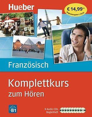 FRANZÖSISCH HÖRKURS KOMPLETTAUSGABE MIT 9 AUDIO-CDs BEGLEITHEFT LERNEN OHNE BUCH