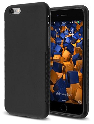mumbi double GRIP Hülle für iPhone 6 6s Schutzhülle schwarz