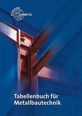 Tabellenbuch Metallbautechnik Michael Ignatowitz Fehrmann