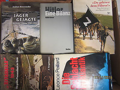 27 Bücher Bildbände Dokumentation 2. Weltkrieg NSDAP 3. Reich Hitler Krieg