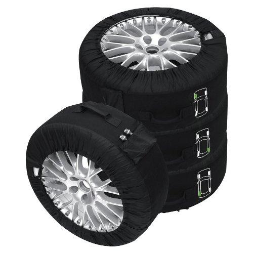 Reifentaschen-Set Premium schwarz Reifentaschenset Premium 4-tlg. passend für alle Reifentypen bis 245 mm (14-18